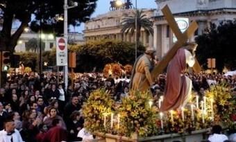 #Messina. Festività pasquali, questa sera Via Crucis in via XXIV Maggio