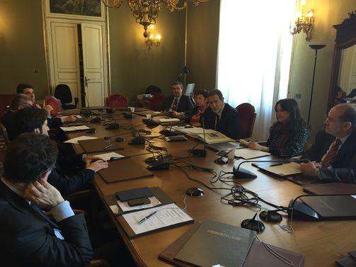 Commissione regionale Antimafia e il Prefetto di Palermo Francesca Cannizzo