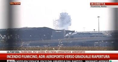 """#Sicilia. Voli bloccati per l'incendio a Fiumicino, aumentano i biglietti. Bianco e Ardizzone: """"Uno scandalo"""""""