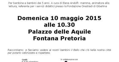 #Palermo. Domenica 10 maggio a passeggio coi bambini raccontando la città
