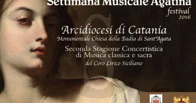 #Catania. Al via la Settimana musicale agatina