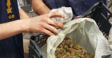 #Catania. In auto con un chilo di marijuana