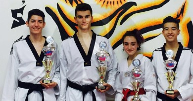 #Taekwondo. La Tiger's Den Barcellona miete successi da Berlino a Bagheria