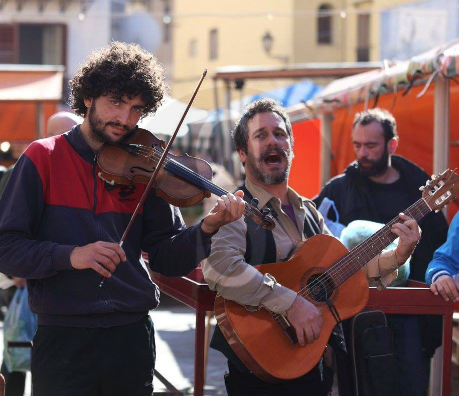 #Palermo. Anima Ballarò, gli artisti adottano i mercanti
