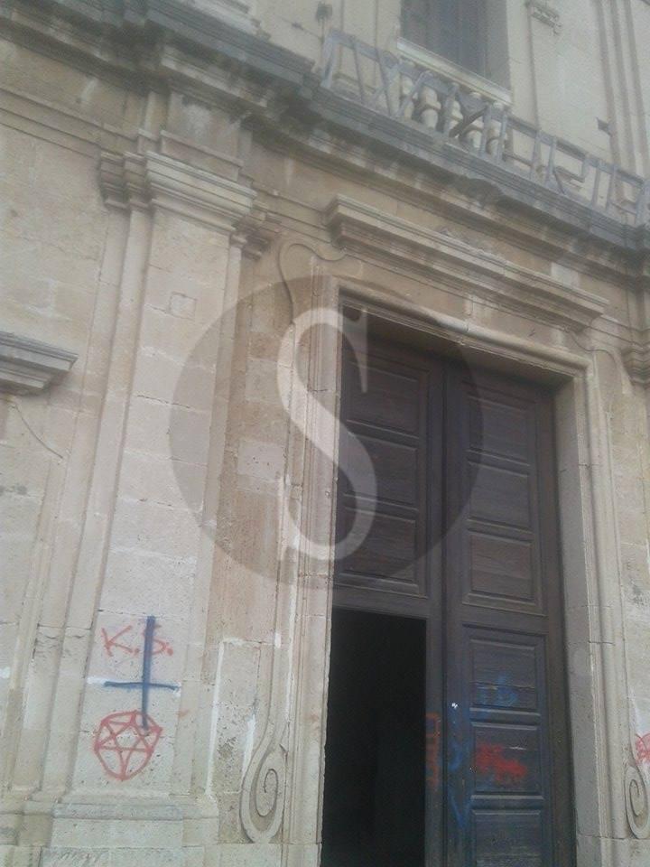 #Barcellona. Vandali profanano monastero basiliani