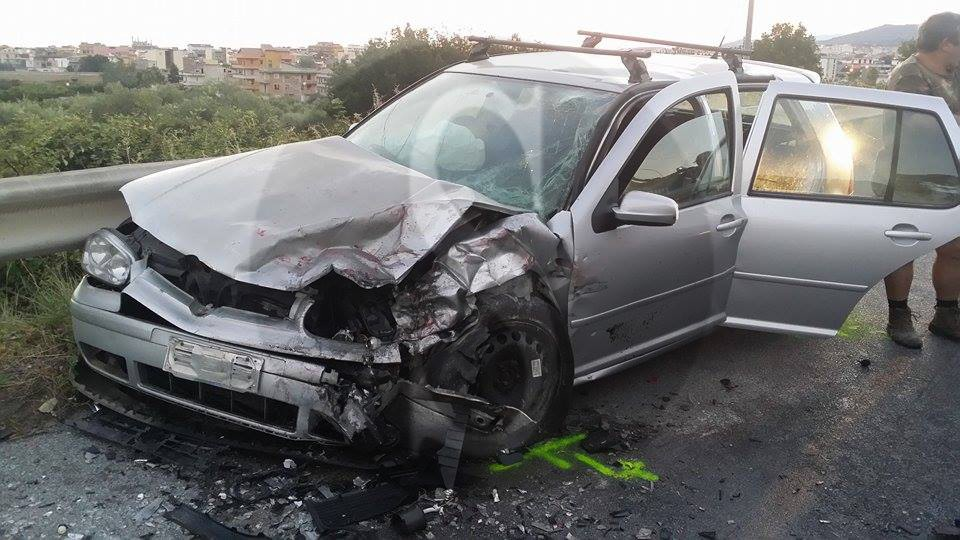 #Barcellona. Violento incidente tra auto: due i feriti