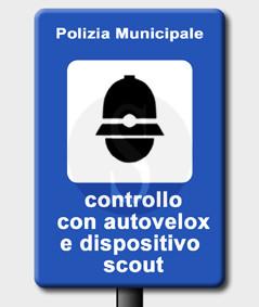 autovelox scout dispositivo controllo sabato controlli municipale