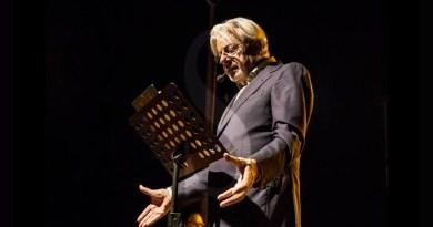 #Teatro. Il viaggio di Giancarlo Giannini tra musica e poesia