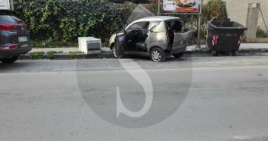 #Barcellona. Monovolume si schianta su una minicar in via Kennedy