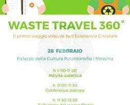 #Messina. Waste Travel 360°, parte il viaggio nel mondo dei rifiuti