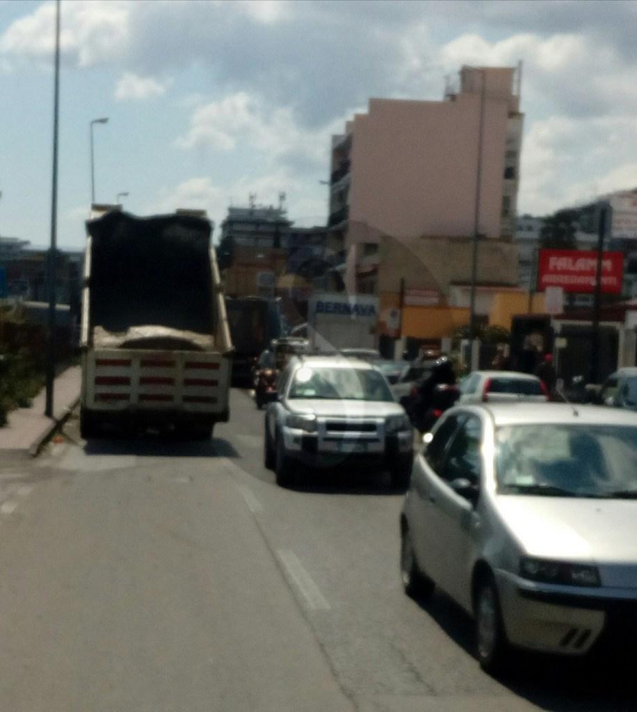 #Messina. Lavori stradali nell'ora di punta e a Pistunina è il caos