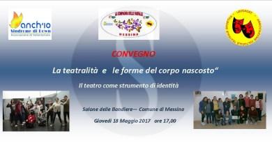 #Messina. Compagnia delle Farfalle, La Teatralità e le Forme del Corpo Nascosto