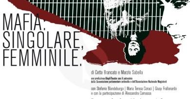 """#Teatro. Strage di via D'Amelio, in scena al Teatro Antico di Segesta """"Mafia: singolare femminile"""""""