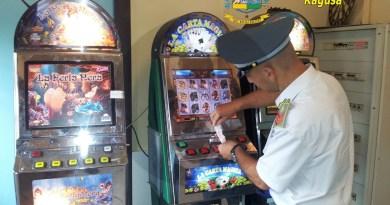 Cronaca. Lotta al gioco d'azzardo: sequestrati 4 videopoker a Comiso
