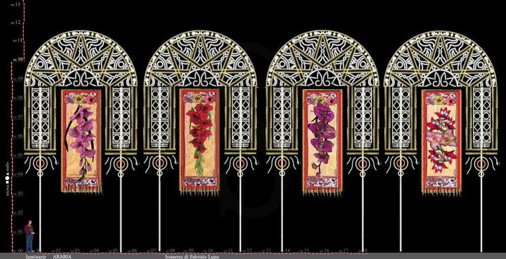 Teatro. A Palermo, la Macchina dei Sogni tra sante, luci, versi sacri e decori barocchi