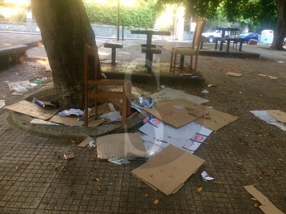 Politica. Blitz del sindaco De Luca e dell'assessore Musolino a piazza XX Settembre