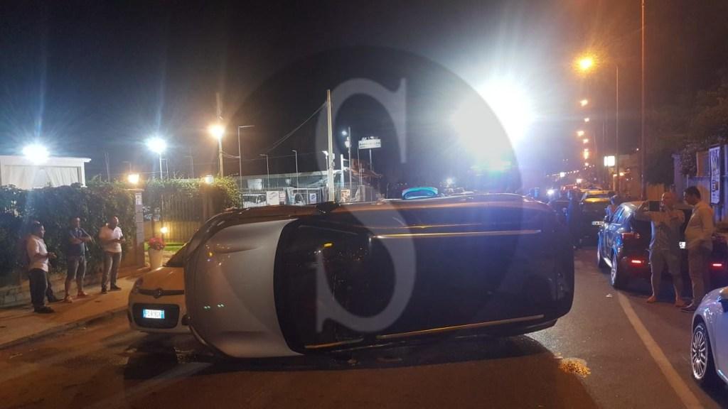 Cronaca. Messina, Peugeot si schianta contro una Panda sulla Litoranea: 5 feriti