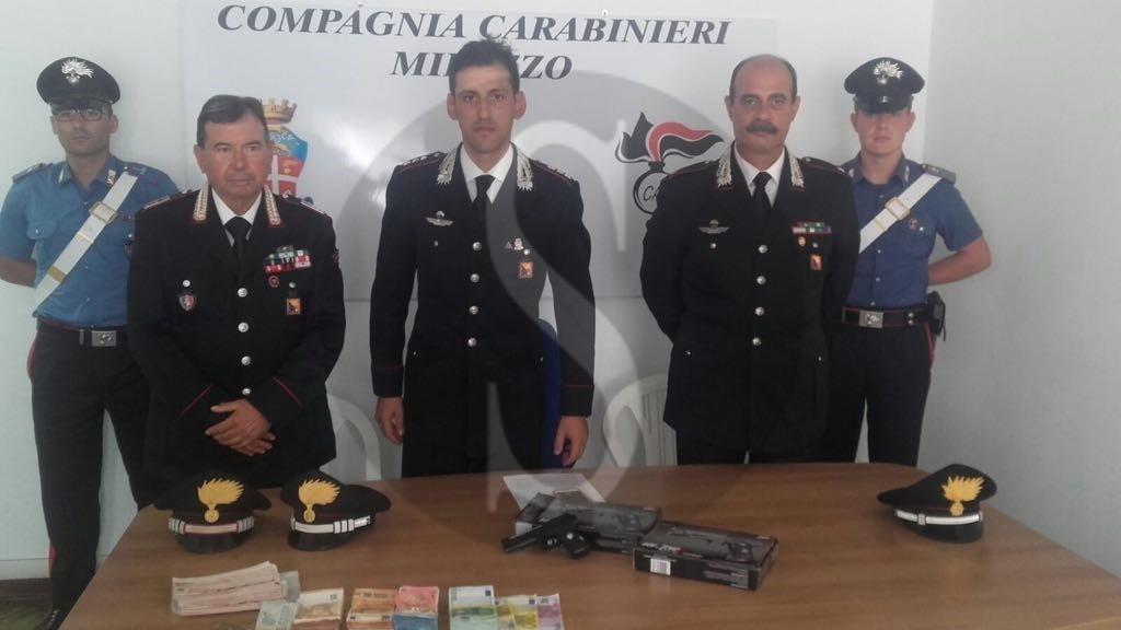 Cronaca. Lipari, arrestati dai carabinieri i tre autori della rapina al Monte dei Paschi