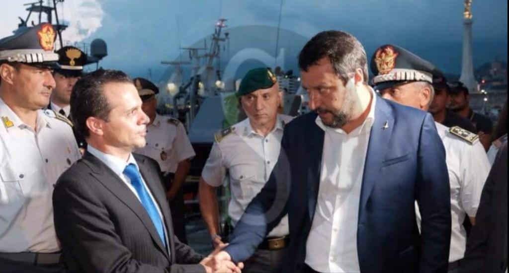 """Politica. Salvini a Messina per le baracche: """"Impossibile vivere in quelle condizioni"""""""