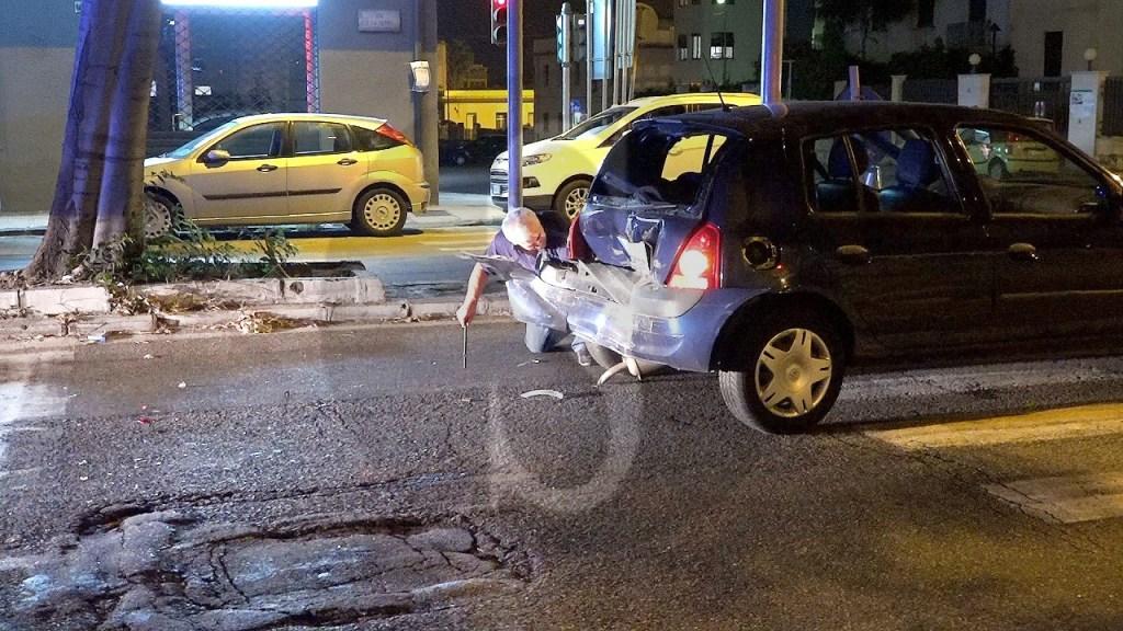 Cronaca. Messina, incidente in via La Farina: ferita una donna