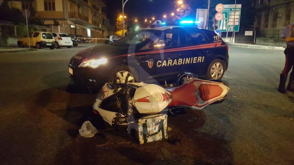 Cronaca. Messina, grave scontro in viale Boccetta tra moto e scooter: 2 feriti