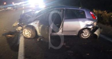 Cronaca. Grave incidente sulla Messina-Palermo tra auto: feriti due uomini e una donna
