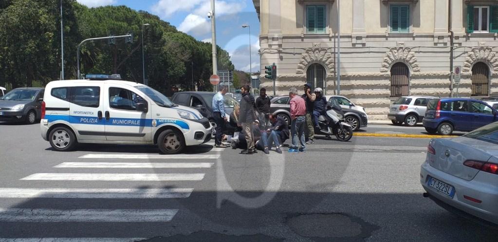 Messina, incidente in viale Boccetta: auto travolge donna sulle strisce pedonali