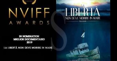 """""""La libertà non deve morire in mare"""" di Lo Piero unico film italiano agli Awards olandesi del NVIFF"""