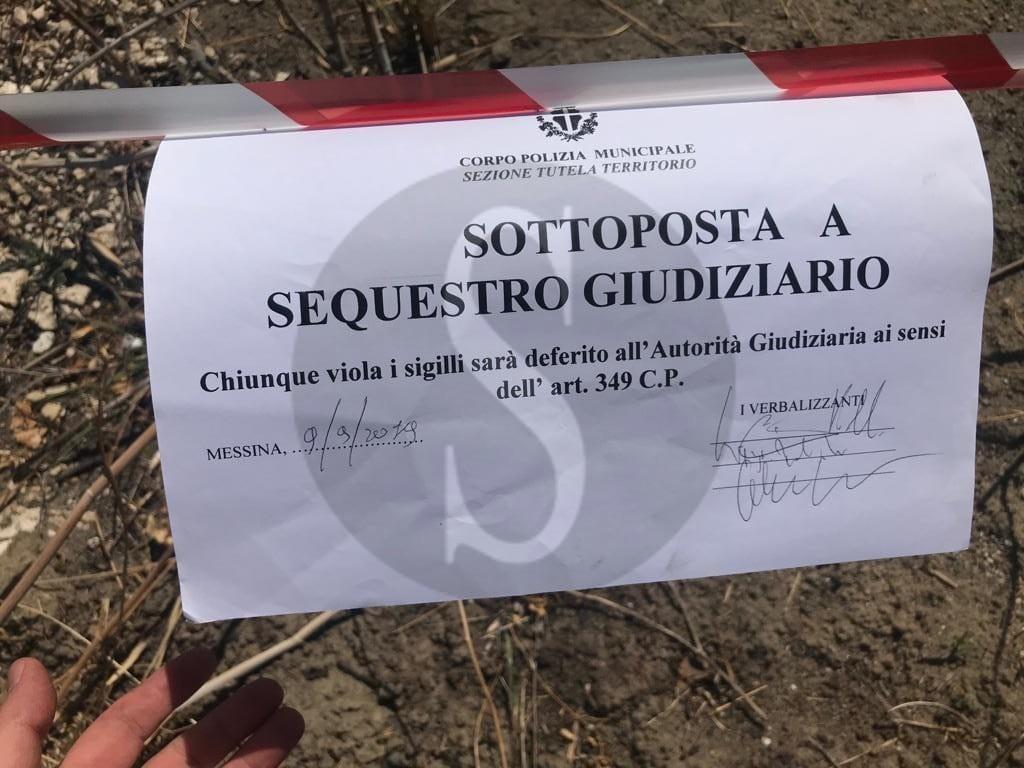 Messina, sequestrato ampio terreno adibito a discarica vicino il Villaggio Cumia. Denunciato un 26enne