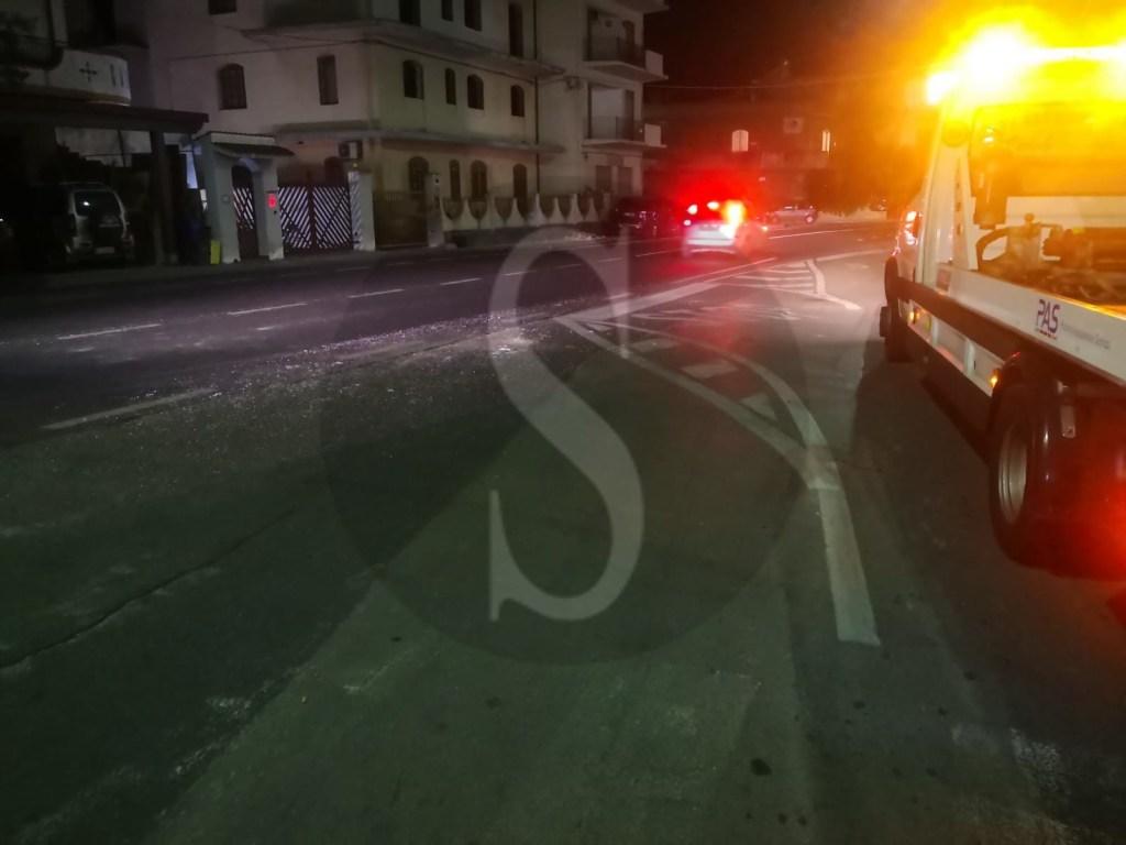 Terme Vigliatore, incidente stradale sulla Nazionale: tre auto coinvolte e traffico in tilt