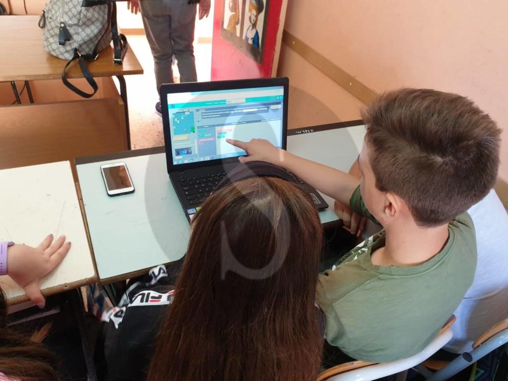 Barcellona PG, l'istituto Comprensivo Militi ha partecipato alle settimana Europea del Codice