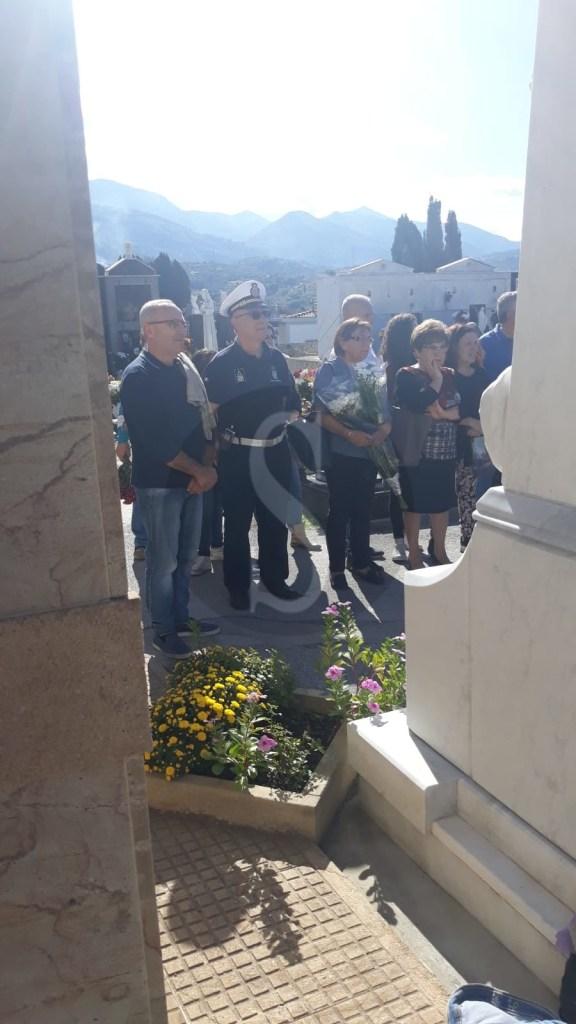 Al cimitero di Barcellona Pozzo di Gotto ricordato il Maggiore La Rosa