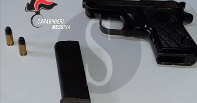 Gualtieri Sicaminò, minaccia di morte un minorenne con una pistola: arrestato 23enne