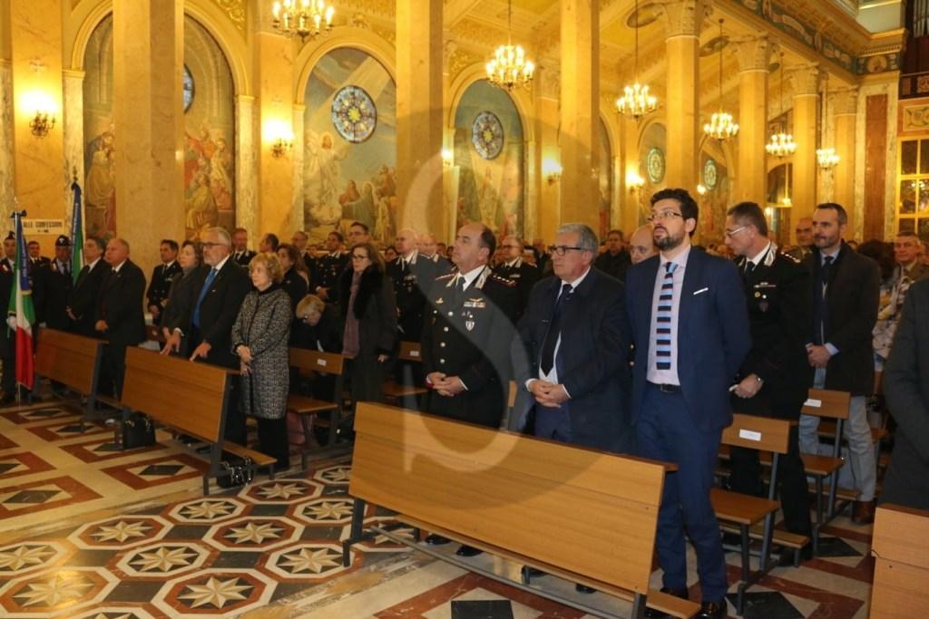 Celebrata a Tindari la Virgo Fidelis, la patrona dei Carabinieri