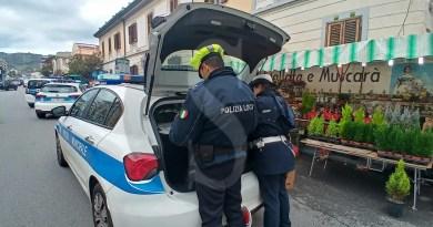 Messina, blitz della Polizia Municipale in viale Europa: 21 verbali e un sequestro