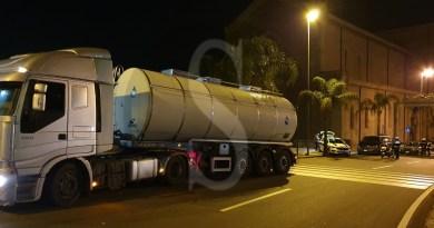 Messina, controlli ai TIR con autovelox e alcoltest in viale Boccetta: sanzioni per migliaia di euro
