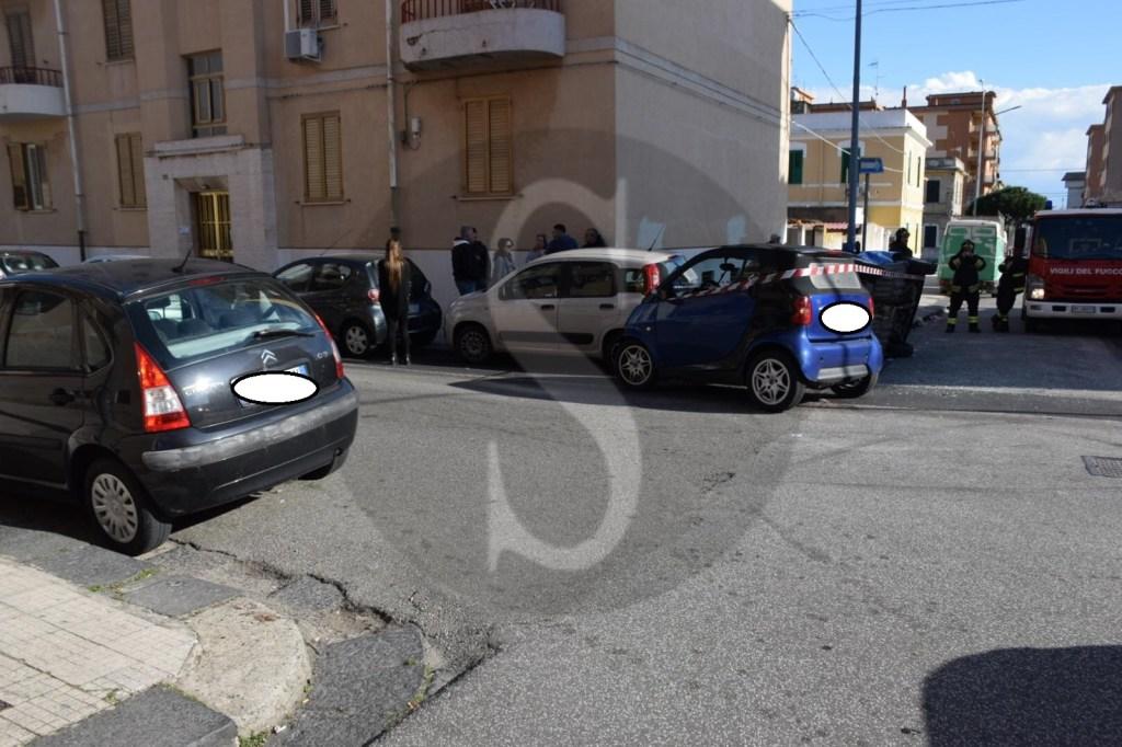 Messina, incidente tra auto: ferite due donne