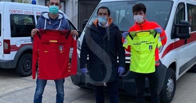 Coronavirus, sport e solidarietà: l'AIA di Barcellona PG dona oltre 500 chili di pasta alla Croce Rossa