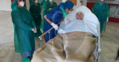 Festa a Messina: torna a casa la centenaria guarita dal coronavirus