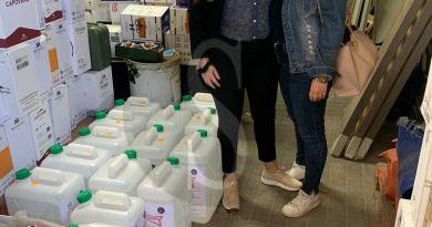 Solidarietà e coronavirus, UniCt dona a Messina 200 litri di gel igienizzante