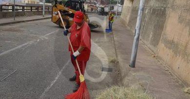 MessinaServizi, da Nord a Sud interventi a tappeto per disinfezione e scerbatura