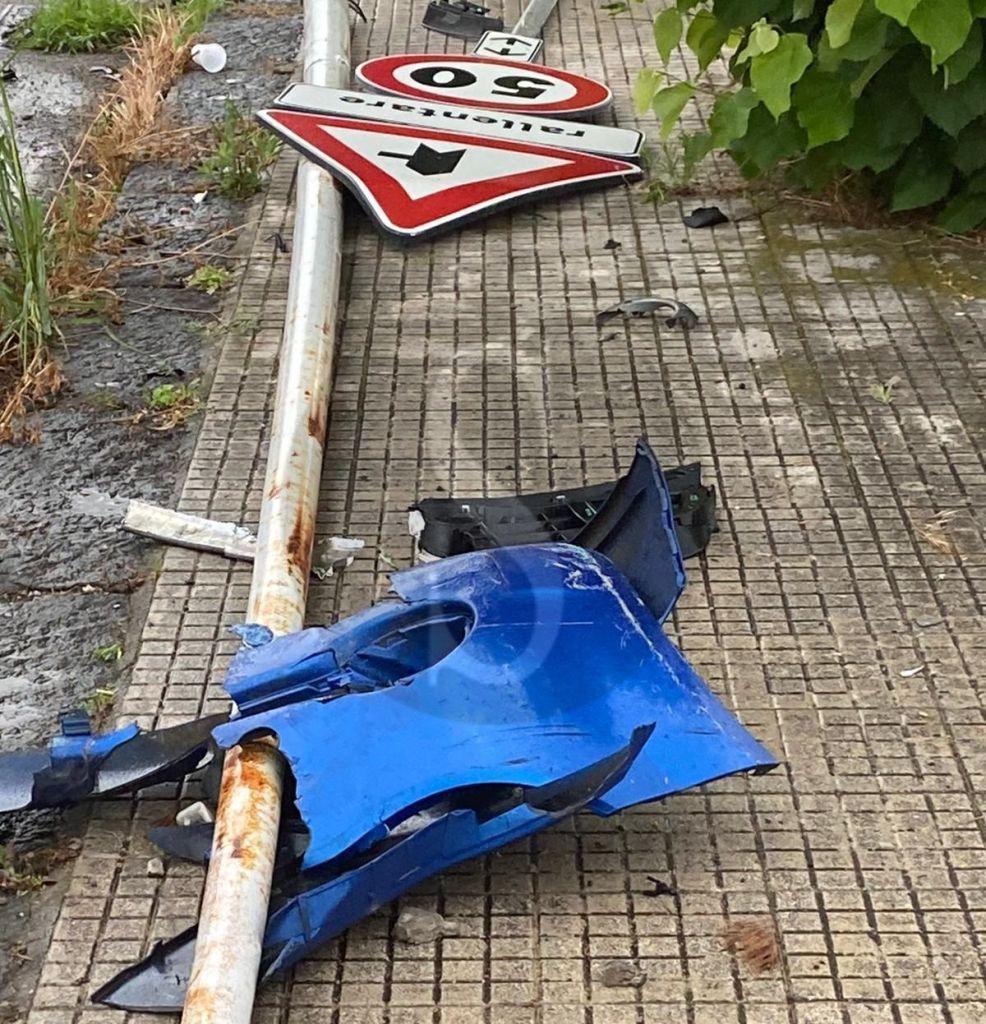 Milazzo, incidente all'ingresso dell'asse viario: contuse due ragazze