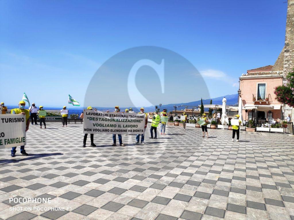 Stagionali in protesta a Taormina, CISL Messina lancia SOS a Governo e Regione