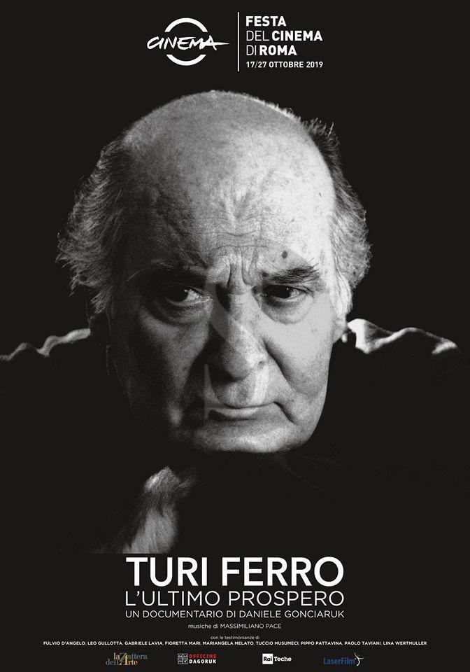 """Cinema, candidato ai Nastri d'argento """"Turi Ferro – L'ultimo Prospero"""" del regista messinese Gonciaruk"""
