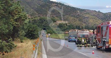 Incidente sulla Messina-Palermo: grave il conducente, autostrada bloccata