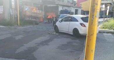 Incidente a Giammoro in via Libertà, due i mezzi coinvolti