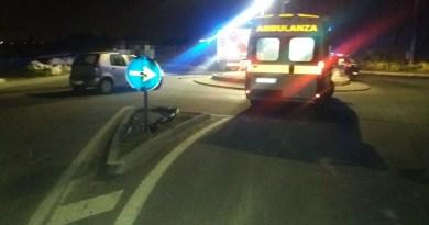 Terme Vigliatore – Scontro tra due auto alla rotonda di Marchesana, due feriti