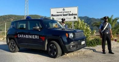 Furti in diversi vivai, scattano 4 arresti a Mazzarrà Sant'Andrea