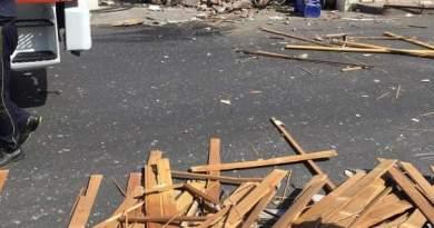 Violenta esplosione in un panificio a Fondachello Valdina, danni ingenti