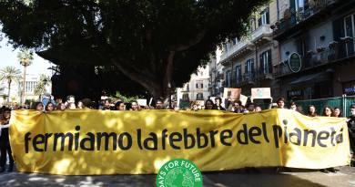 Fridays for Future, a Palermo lo sciopero globale per il clima